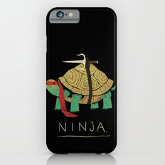 ninja - red iPhone 6 Slim Case