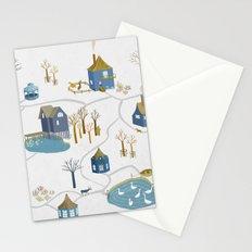 BLUE VILLAGE Stationery Cards