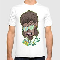 Hungry Like The Werewolf Mens Fitted Tee White SMALL