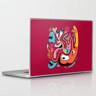 Laptop & iPad Skin featuring #1990 by Chris Piascik