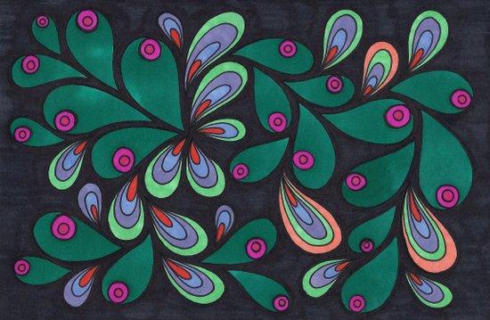 Candy Art Print