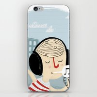 Chillin' iPhone & iPod Skin