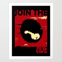 Join us Art Print