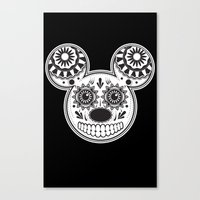 This Ain't Disney Sugar … Canvas Print