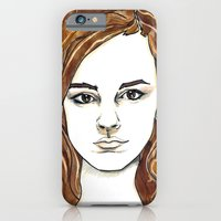 iPhone & iPod Case featuring Hermione Granger by Boni Dutch