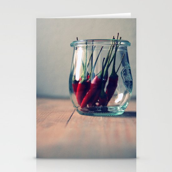 sweet chili  Stationery Card