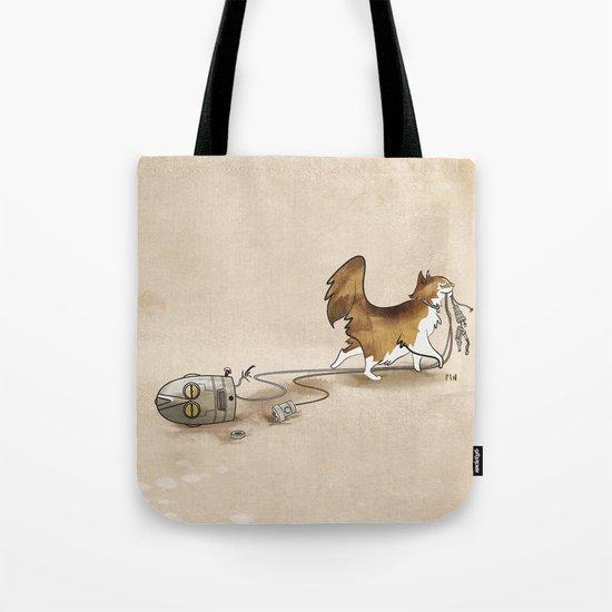 My Cat, the Robot Killer Tote Bag