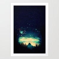 Stellanti Nocte Art Print