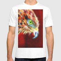 Phoenix Risen Mens Fitted Tee White SMALL