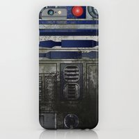 iPhone & iPod Case featuring Swamp Droid by BinaryGod.com