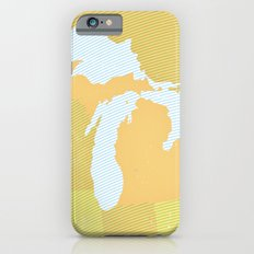The GREAT LAKES of NORTH AMERICA iPhone 6s Slim Case
