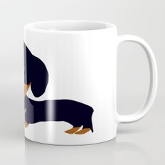 Dachshund (black and tan) Mug