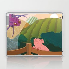 The spider and the pig Laptop & iPad Skin
