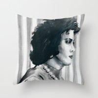 Transvestite Throw Pillow