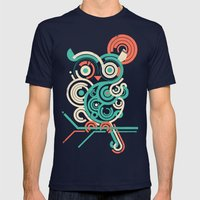 Owl 2.0 Mens Fitted Tee Navy SMALL