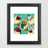 Introverts Framed Art Print
