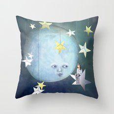 Hanging with the Stars Throw Pillow