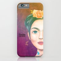 iPhone & iPod Case featuring Frida kahlo by Gma Dae