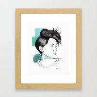 Heartthrob Framed Art Print