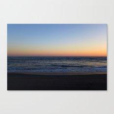 LA Gradient Sunset Canvas Print