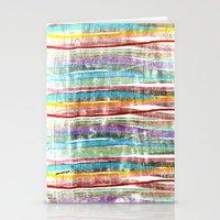 Fancy Stripes 3 Stationery Cards
