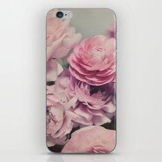 quiet ranunculus iPhone & iPod Skin