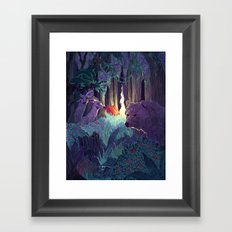 Staying Alive Framed Art Print