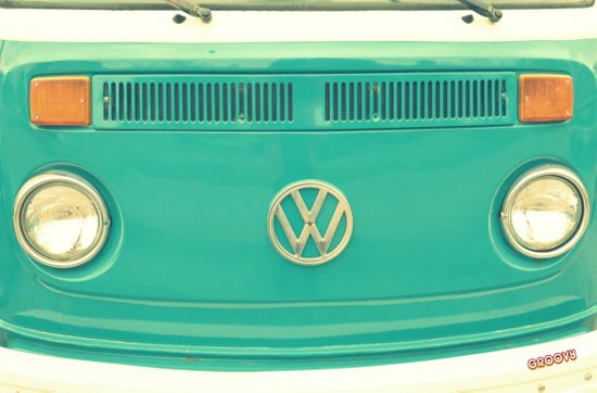 Groovy VW Canvas Print
