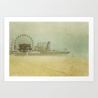 Seaside Heights Fun town pier New Jersey  Art Print