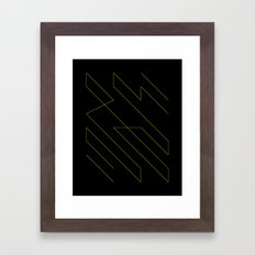 Bolt Framed Art Print