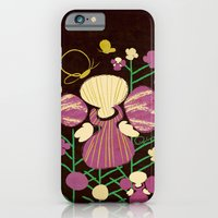 Floral Flower Artprint iPhone 6 Slim Case
