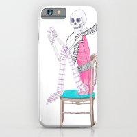 circus skeleton iPhone 6 Slim Case