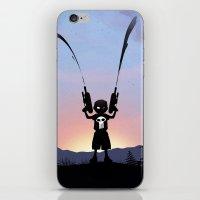 Punisher Kid iPhone & iPod Skin