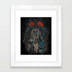 Nicodemus & The Rats of the Rosebush  Framed Art Print