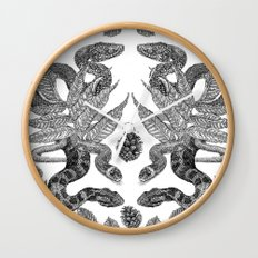 Serpent's Choir Wall Clock