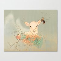 Lamb Canvas Print