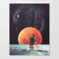 Cloud Surfing Canvas Print