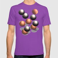 Bouncing IV Mens Fitted Tee Ultraviolet SMALL
