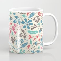 Retro Blooms Mug