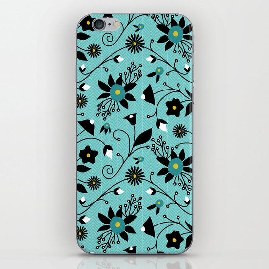 Folky Floral iPhone & iPod Skin
