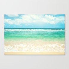 endless sea Canvas Print