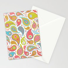 Power Paisley Stationery Cards
