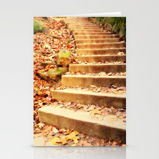 Enchanted Staircase Stationery Card