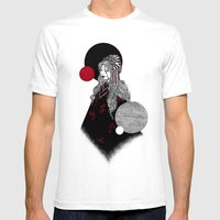 False Innocence Mens Fitted Tee White SMALL
