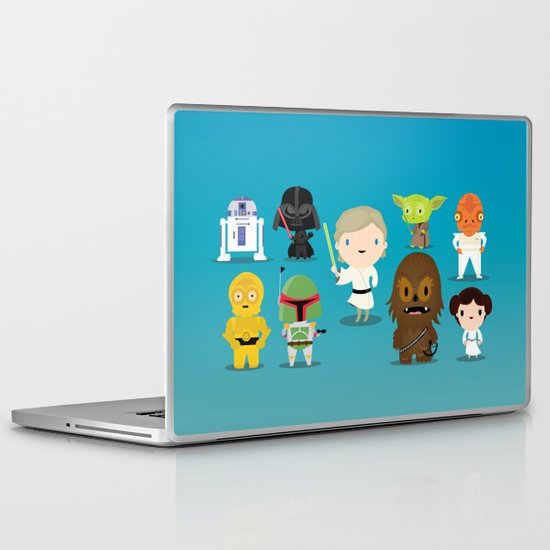 The force Laptop & iPad Skin