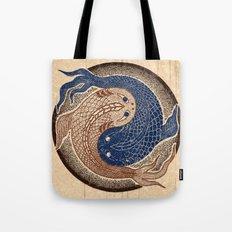 shuiwudáo yin yang mandala Tote Bag