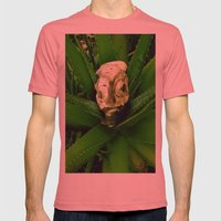 Petrified Fishhead Mens Fitted Tee Pomegranate SMALL