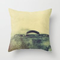 It's time to go. Throw Pillow