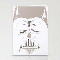 Ghost Darth Vader Stationery Cards