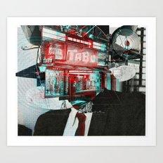 The Sur Real Man 6V2 Art Print